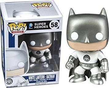 Funko Pop! White Lantern Batman