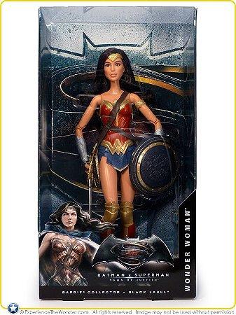 Barbie Mulher Maravilha Black Label Batman Vs Superman Mattel