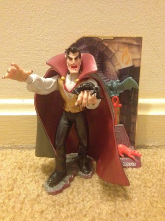 Playmates Monster Force Dracula Prince of darkness 1994