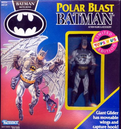 Kenner Batman Returns Polar Blast Limitado TOYS  R US 1991