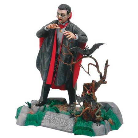 Monogram Dracula Universal Monsters Model Kit 1/8 Vintage 1991
