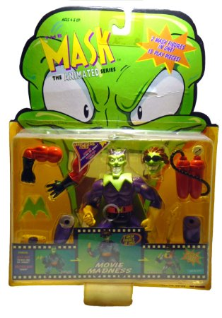 The Mask (O Maskara) Movie Madness The Animated Series  Toy island 1997