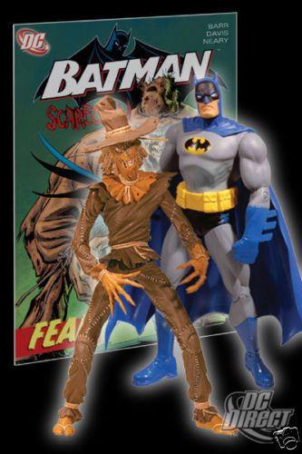 Mattel DC Direct Batman Scarecrow (Espantalho) Fear Collector Set