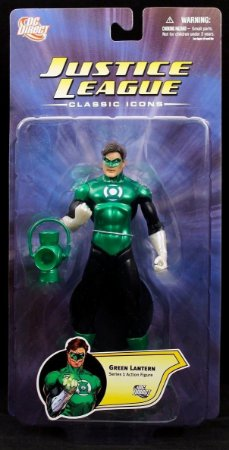 Dc Direct Justice League Classic Icons Series 1 Green Lantern (Lanterna Verde)