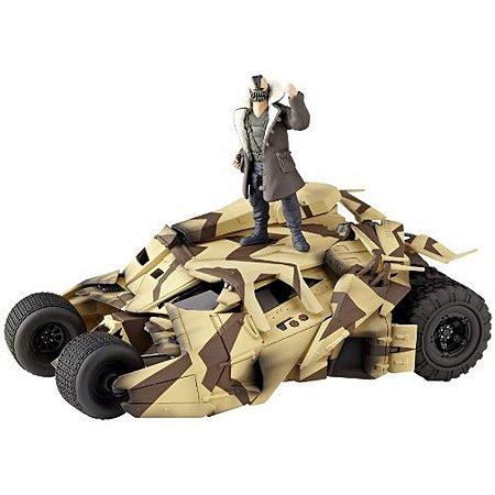 Kaiyodo Sci-Fi Revoltech 047 Batman TDKR Tumbler Cannon