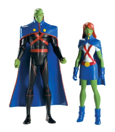 Dc Universe Young Justice Martian Manhunter (Ajax) e Miss Martian