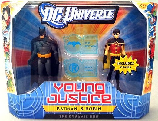 Dc Universe Young Justice Batman & Robin Dynamic Duo