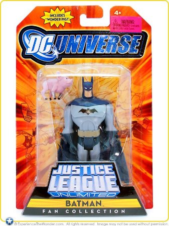 Dc universe Justice League Unlimited Batman Fan Collection