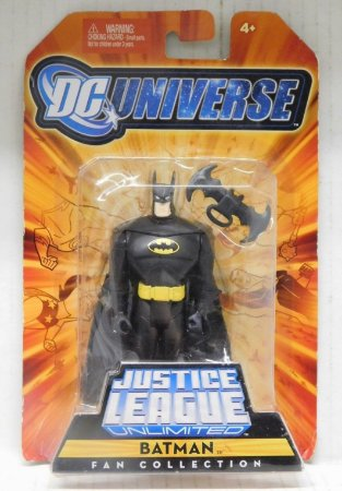 Dc universe Justice League Unlimited Batman Fan Collection 2