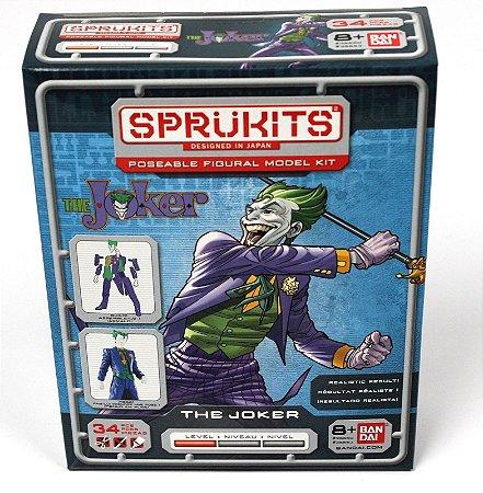 Bandai Sprukits Level 1 Model Kit Dc Batman The Joker (Coringa)