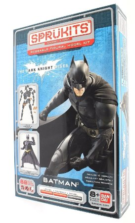 Bandai Sprukits Level 2 Model Kit Dc Batman TDKR