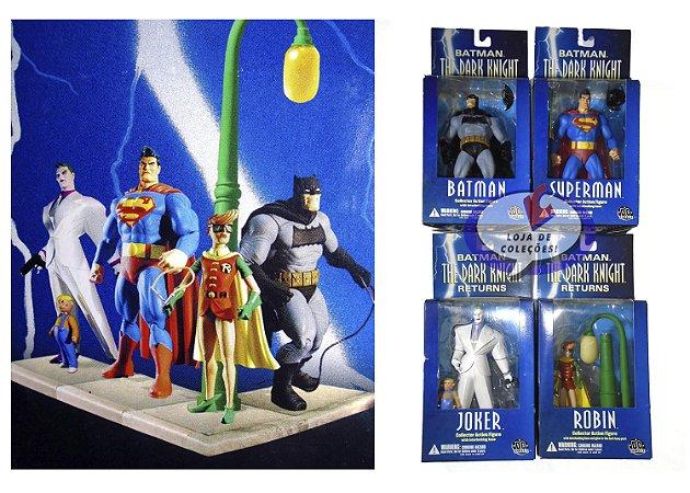 Mattel Dc Direct Batman The Dark Knight Returns - Pack com 04
