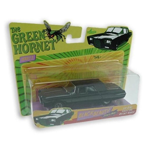 Factory The Green Hornet (Besouro Verde) Black Beauty (Beleza Negra)  1/50 Die Cast
