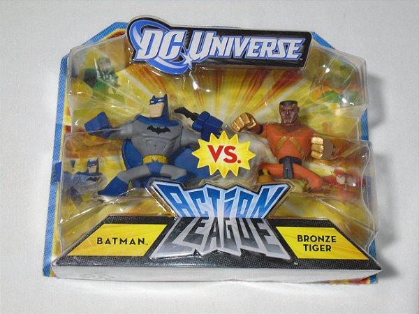 Dc Universe Action League Batman Vs Bronze Tiger Mattel