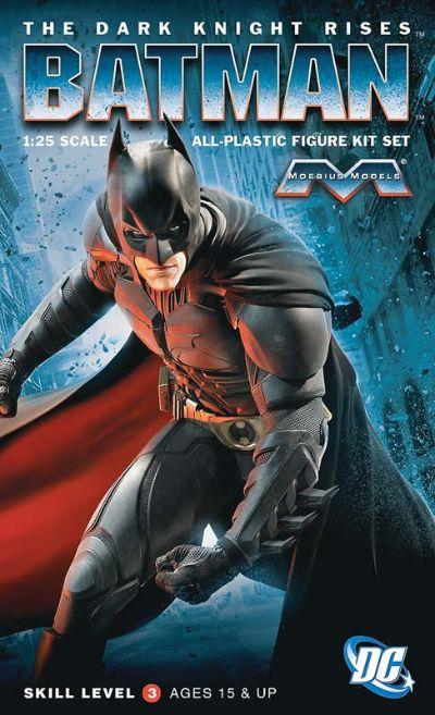 Moebius Model Kit 1/25 Level 3 DC Batman TDKR