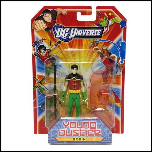 Dc Universe Young Justice Robin Mattel