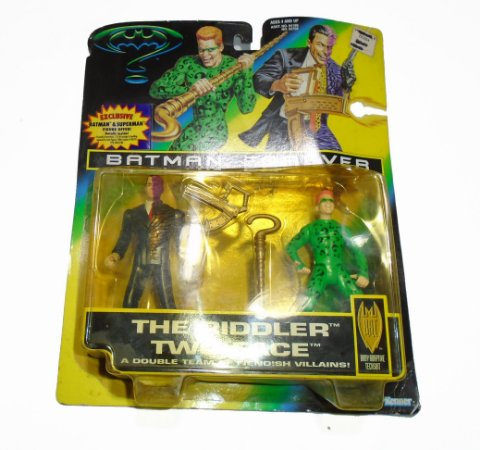 Kenner Batman Forever The Riddler And Two-Face (Charada e Duas Caras) 1996