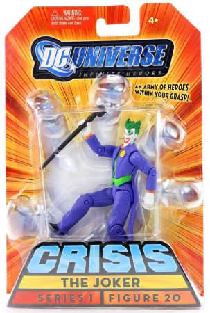 Dc universe Crisis Series 1 The Joker Figure 20 Mattel