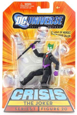 Dc universe Crisis Series 1 The Joker Figure 20 Variant  Mattel