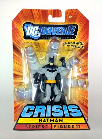 Dc universe Crisis Series 1 Batman Figure  11 Mattel