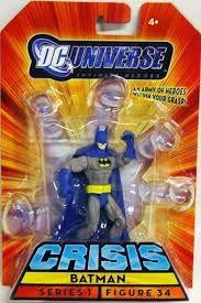 Dc universe Crisis Series 1 Batman Figure  34 Mattel
