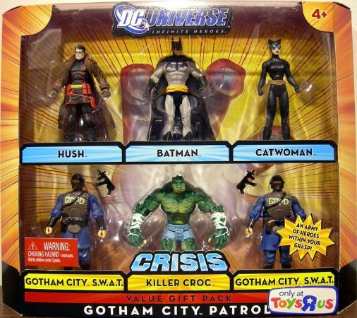 Dc Universe Batman Gotham City Patrol Exclusivo Toy R Us Mattel