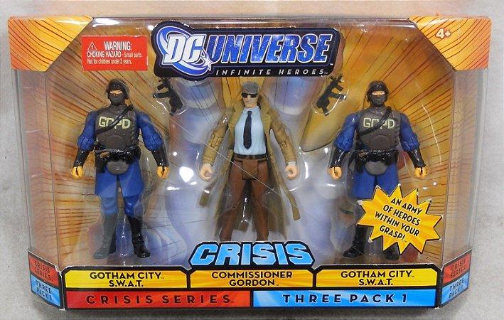 Dc Universe Crisis Series Three Pack 1 Batman Gordon Mattel