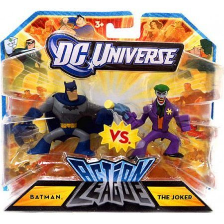 Dc Universe Action League Batman Vs The Joker Mattel