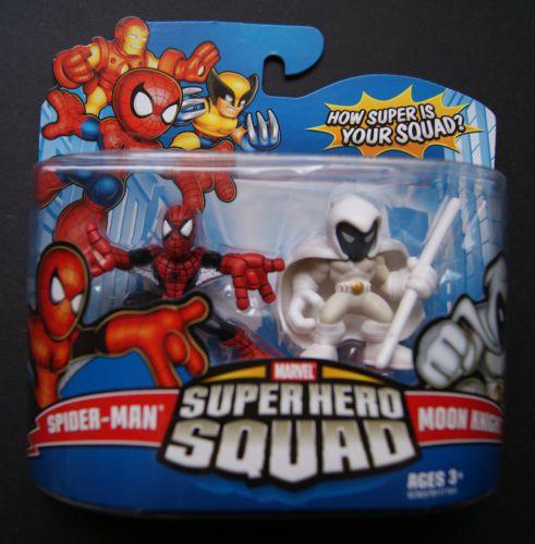 Hasbro Marvel Super hero squad Spider-Man Moon Knight