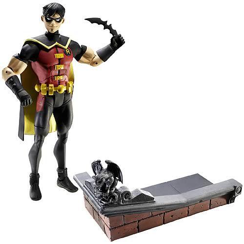 Mattel Dc Young Justice Diorama Robin