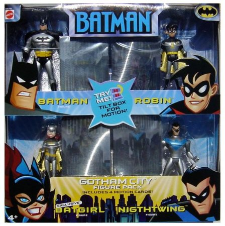 Mattel Batman Animated Gotham City Figure pack