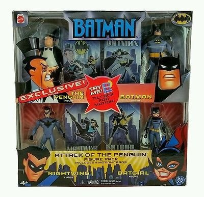 Mattel Batman Animated Attack of the Penguin Figure Pack