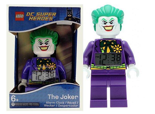 Lego Dc Super Heroes Alarm Clock (Relógio Despertador) The Joker 20 CM