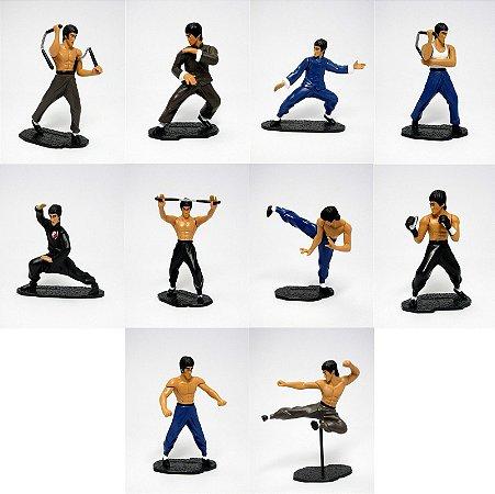 Dydo Bruce Lee  Set com 10 Figuras Conjunto Completo