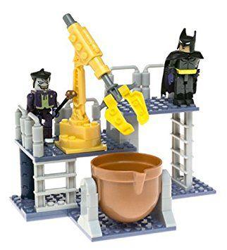MInimates C3 Construction DC Justice League Chemical warehouse Battle Batman Vs The Joker 83 peças