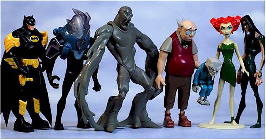 Mattel DC The Batman Arkham Asylum Criminal Collection Pack com 06