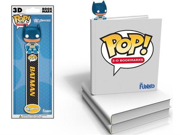 Funko Pop! Batman 3D Book Mark (Marcador de livro 3D)