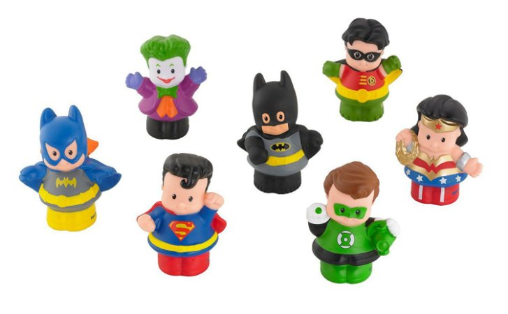Fisher-Price Little People DC Super Friends Figure Pack Exclusivo Target