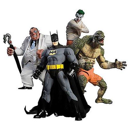 Mattel DC Direct Batman Arkham Asylum Action Figure Box Set
