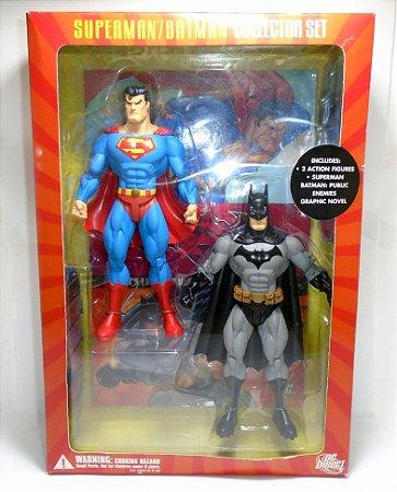 DC Direct Superman / Batman Collector Set