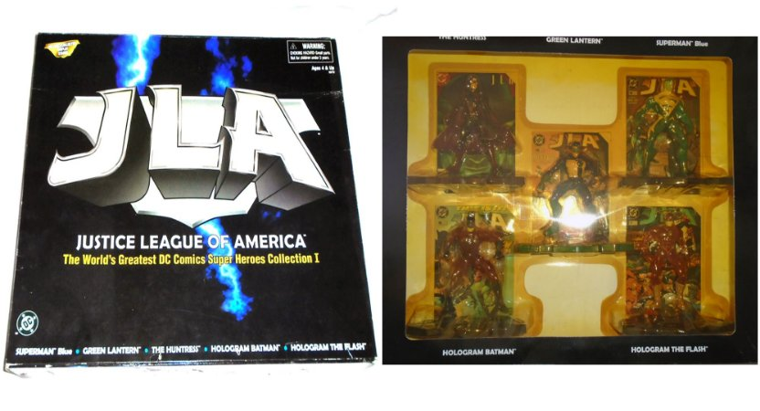 Kenner JLA The World's Greatest Dc Comics Super Heroes Collection 1