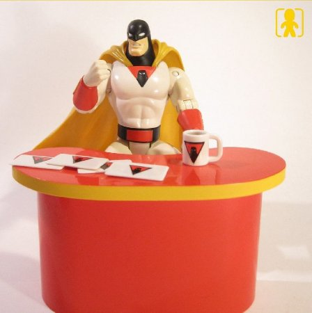Toycom Space Ghost Coast to Coast Limited Edition Collectible Figure