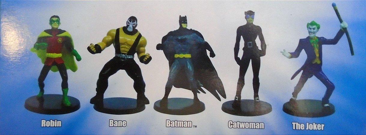 DC Justice League Collectible Figurines Box Set Pack com 05