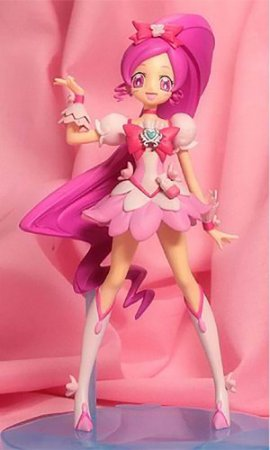 Banpresto DX Girl Heart Catch Pretty Cure!  Cure Blossom Figure