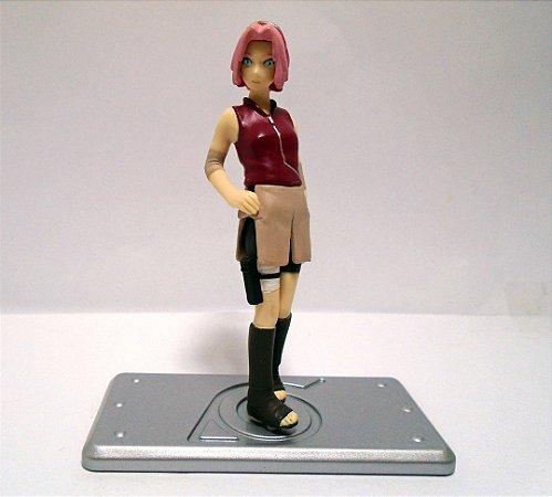 Bandai Naruto Shippuden Haruno Sakura Ninja Collection Real Figure Muito raro