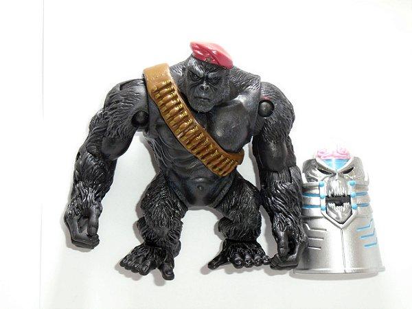 DC Brain (Cérebro) e Monsieur Mallah (Gorila) Pack com 02 Loose