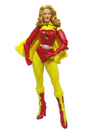 Living Toys Kroft Superstars Series Electra Woman (Mulher Elétrica) Figure Loose