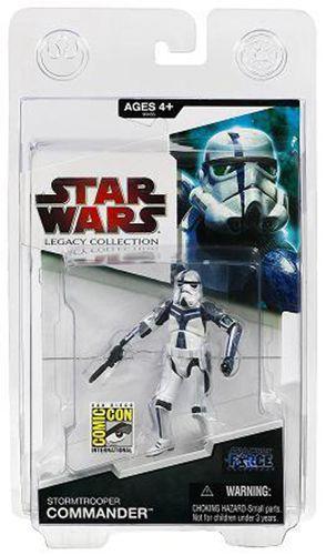 Hasbro SDCC 2009 Star Wars Unleashed Legacy Commander Stormtrooper