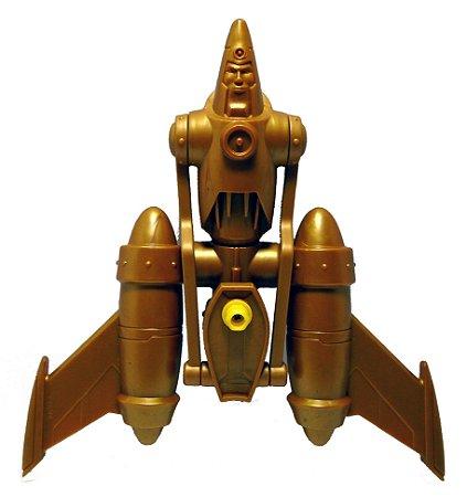 DC Batman Bravos e Destemidos Acessório Homem Metálico Ouro