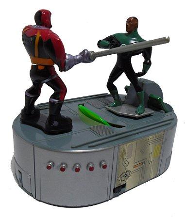DC Mini Game JLU Lanterna Verde Jonh Stuart VS Caçador Cósmico